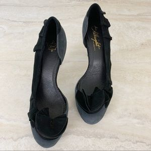 Anthropologie Shoes - Anthropologie Miss Albright Heels Ruffle Shoes